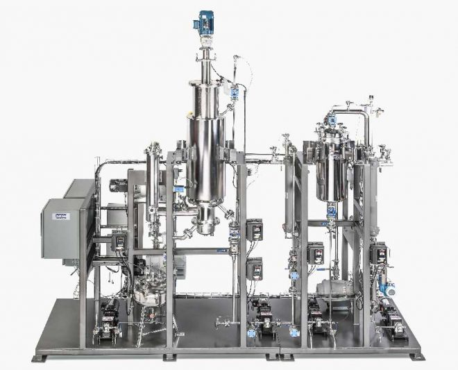 "Pope 12"" Wiped Film Molecular Distillation System"
