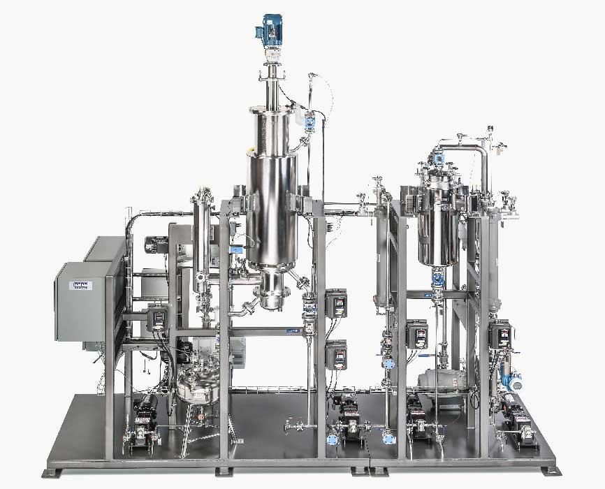 "Pope 12"" Wiped Film Molecular Distillation System"
