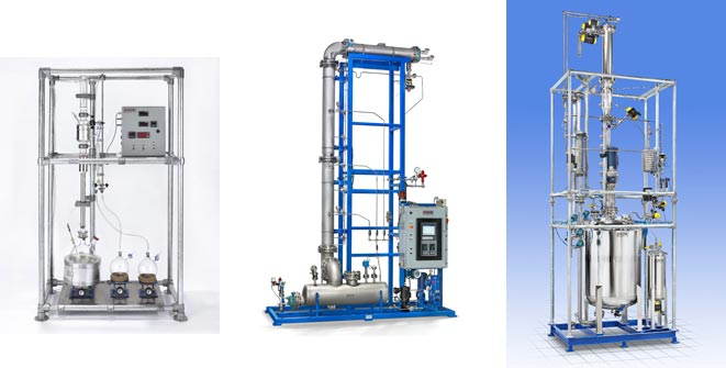 fractional distillation equipment